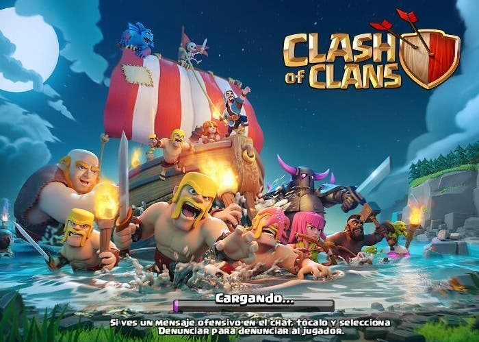 Clash of Clans barco
