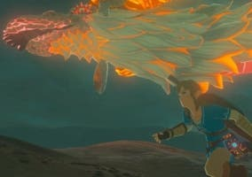 Zelda Breath of the Wild Dragón rojo