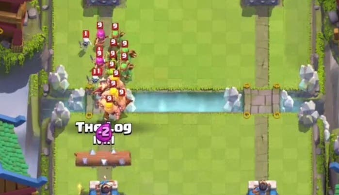 el tronco clash royale