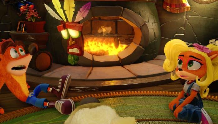 Crash y coco bandicoot