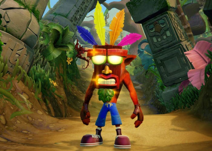 Portada Crash bandicoot 2