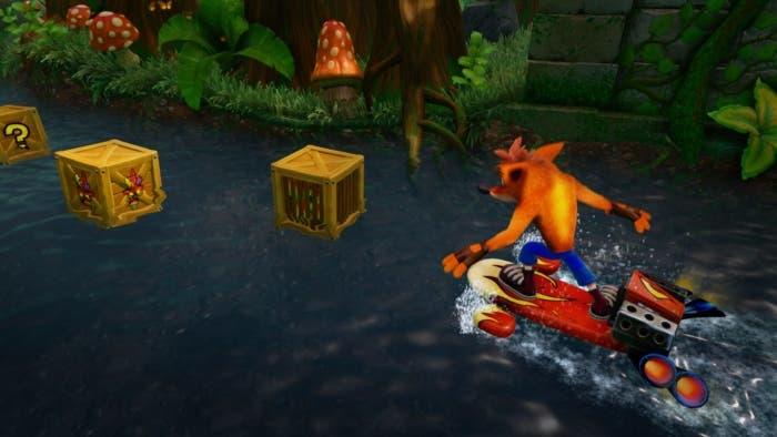 Crash Bandicoot niveles secretos 2
