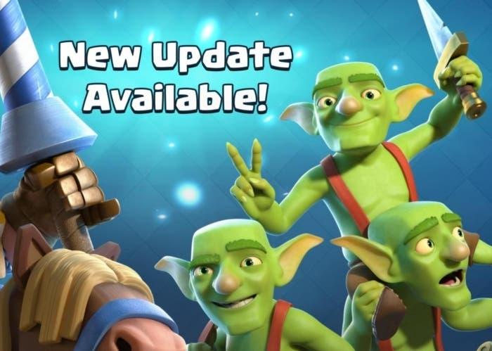 actualización clash royale