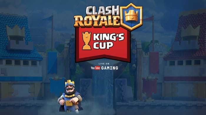 Clash royale desafio kings