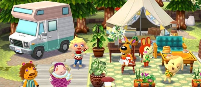 Animal crossing tienda