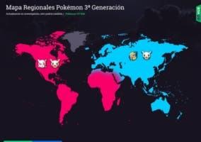 Pokémon Go regionales