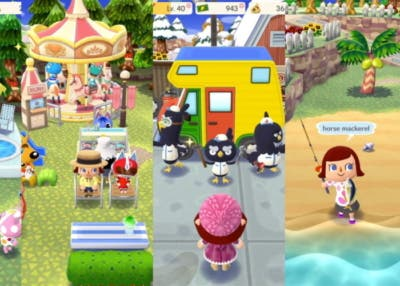 Animal crossing pescar