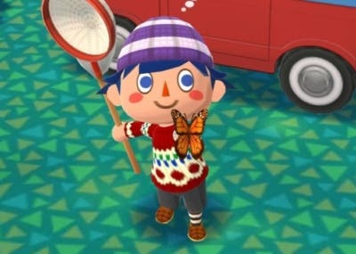 Insectos animal crossing