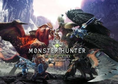 Monster Hunter world portada