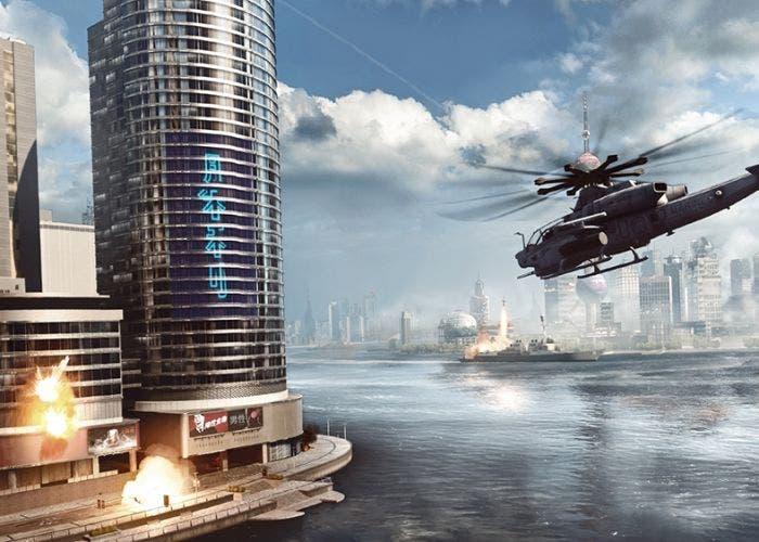 Escena del rascacielos