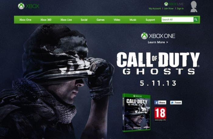 Call of Duty Ghosts fecha