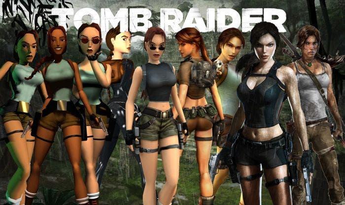 Todas las Lara Croft