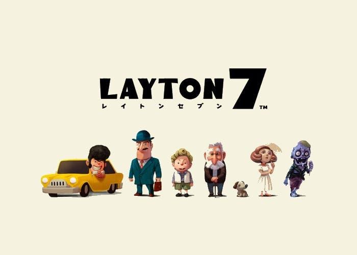 Layton 7 portada