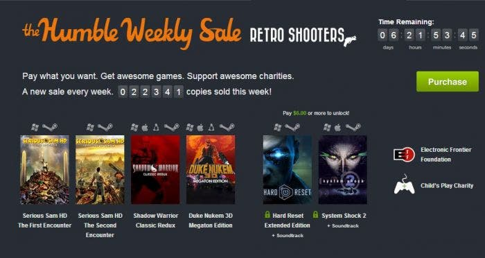 Humble Weekly Bundle Shooters
