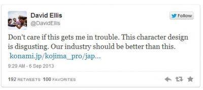 Halo vs MGS tweet