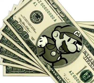 Dinero Super Mario