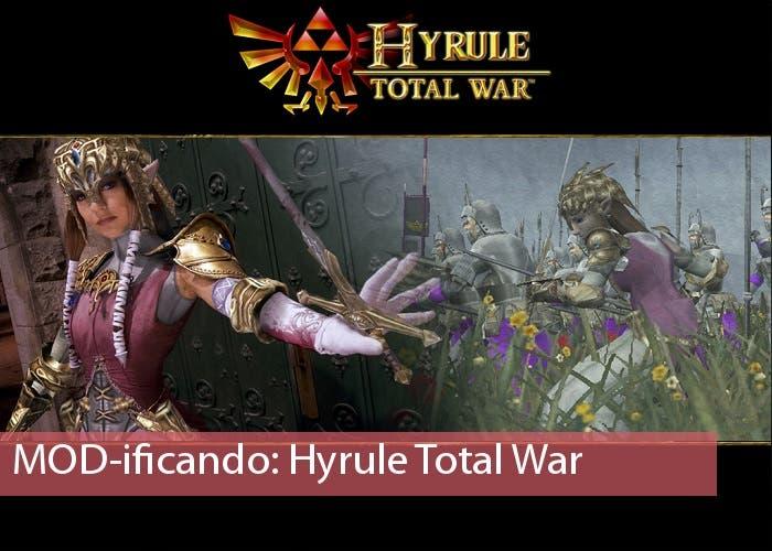 Hyrule Total War Mod portada